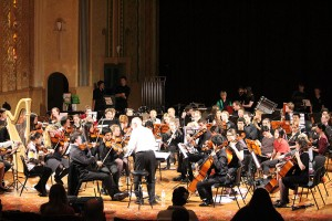 GLR joint project with Sydney Symphony Youth Orchestra - Orchestra workshopped and performed with Gwydir Band at The Roxy