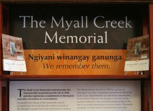 The Myall Creek Memorial