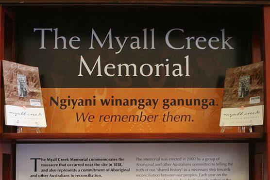 2019 Myall Creek Memorial Program