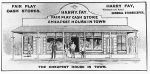 Fay's store - Bingara Telegraph Supplement