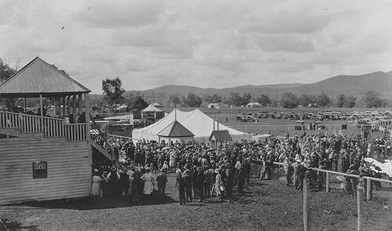 Bingara's highly successful First Show 1931.