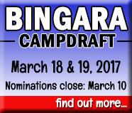 2017 Bingara Campdraft