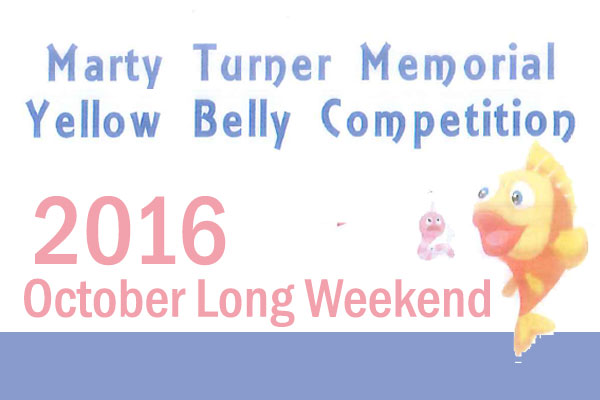 Martin Turner Memorial Yellow Belly Competition 2016