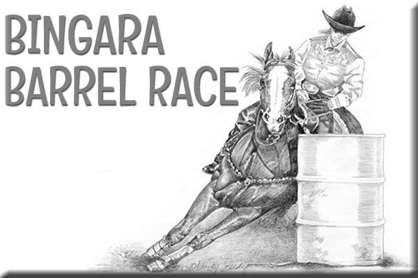 Bingara Barrel Race