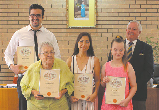 Gwydir's newest Australian citizens