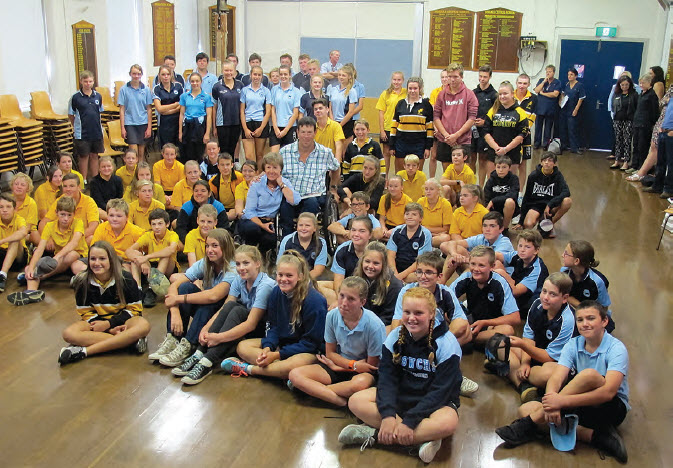 Bingara Central School students