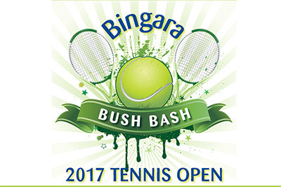 2017 Bingara Bush Bash Tennis