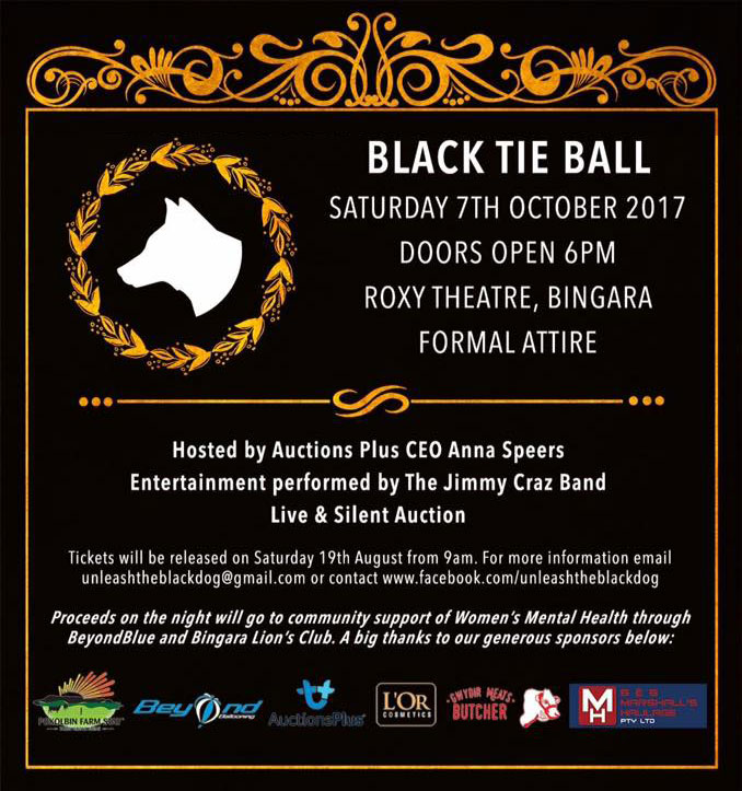 2017 Unleash the Black Dog Ball