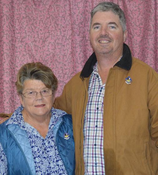 Brenda Pankhurst & Scott Brown. Bingara Pony Club Life Members