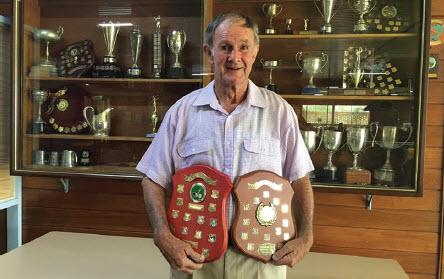 Veterans Week of golf Men's winner, Richard Scutt.