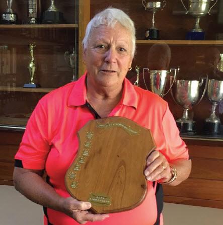 Veterans Week of golf Ladies winner Suzanne Mason