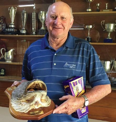 Veterans Week of cod hole winner Terry Norris