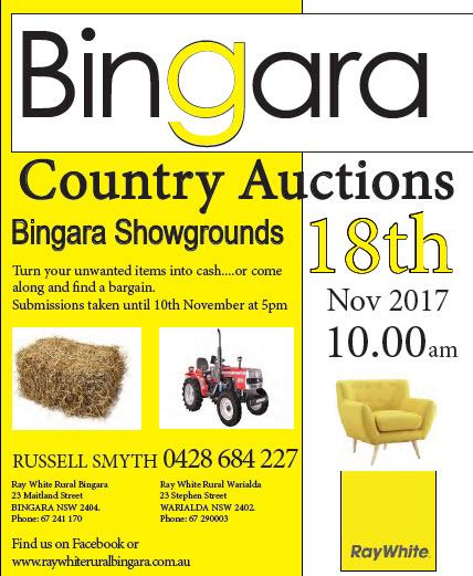 Bingara Country Auctions