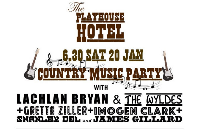 """The Playhouse Hotel presents """"Country Music Party"""""""