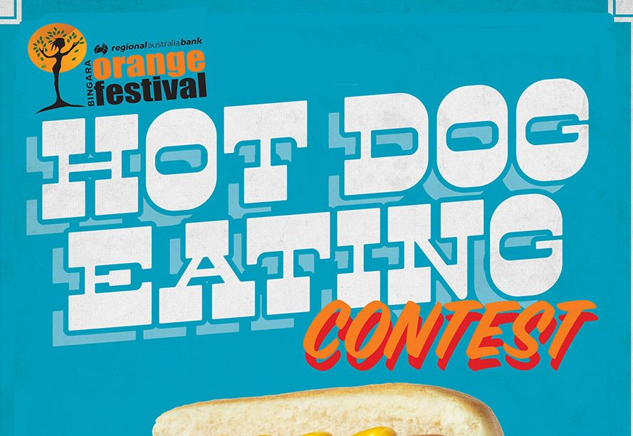 Bingara Orange Festival Hot Dog Eating Contest