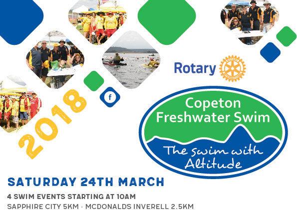2018 Copeton Freshwater Swim