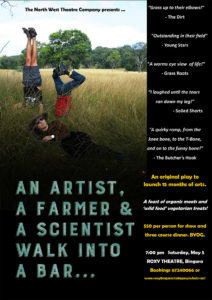 An Artist, A Farmer & A scientist walk into a bar