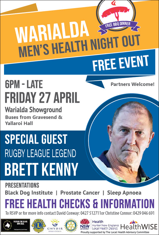 Warialda Men's Health Night Out