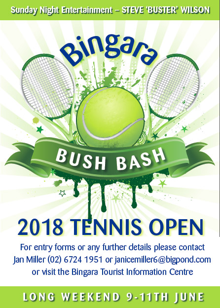 Bingara Bush Bash Tennis