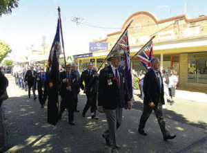 Bingara, Anzac Day march 2018