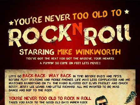 You're Never Too Old To Rock n Roll