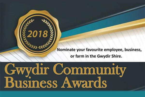 2018 Gwydir Community Business Awards