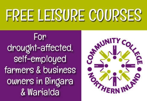 Community College FREE Leisure Courses
