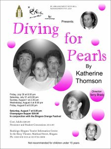 Diving For Pearls Poster