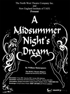 Midsummer Nights Dream Poster