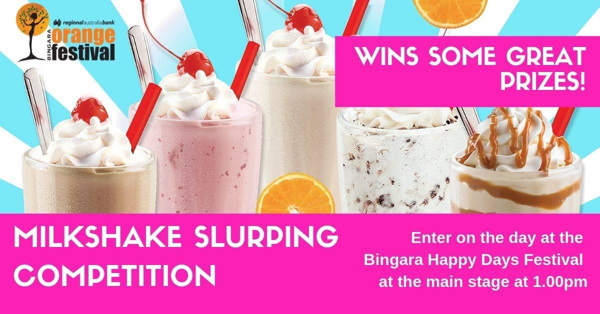 Milkshake Slurping Competition!