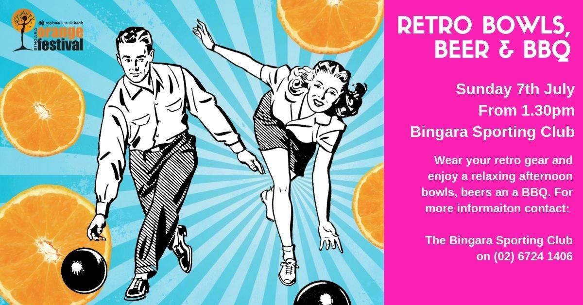 Bingara Sporting Club's Retro Bowls, Beers & BBQ