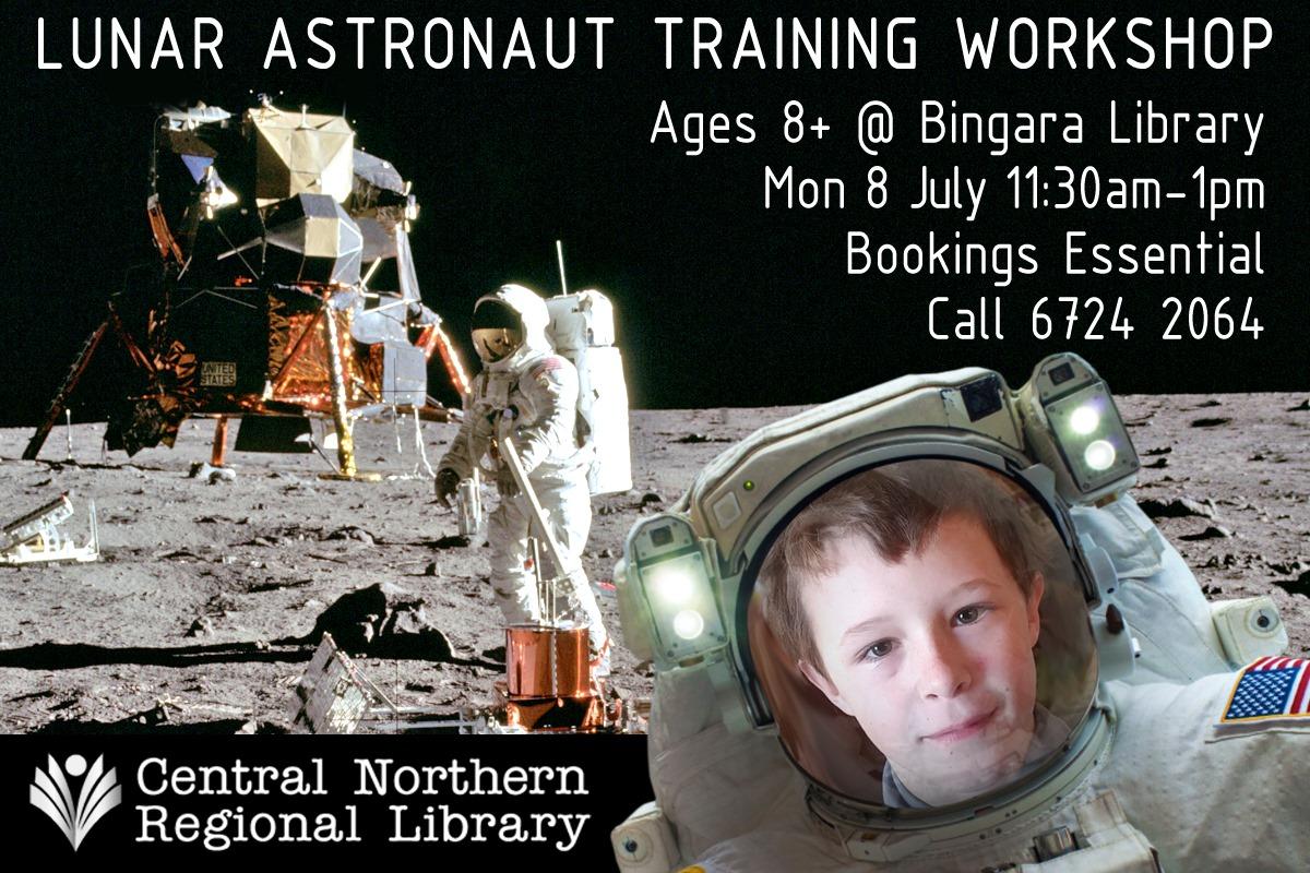 Bingara Lunar Astronaut Training - School Holiday Workshop!