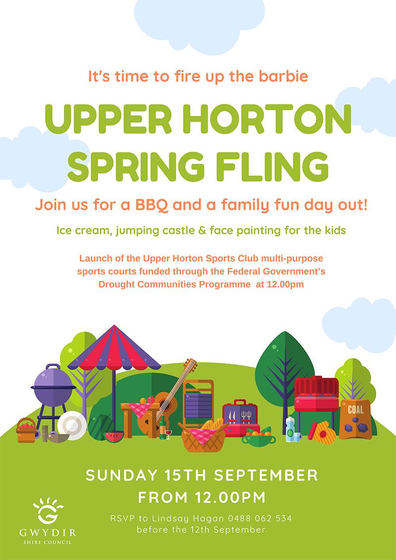 Upper Horton Spring Fling
