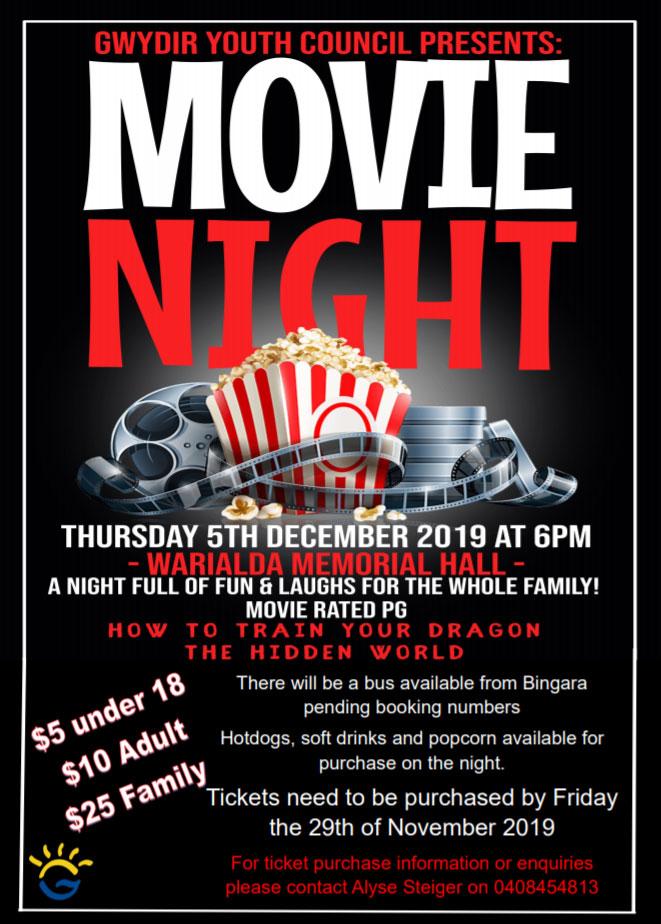 Warialda Movie Night
