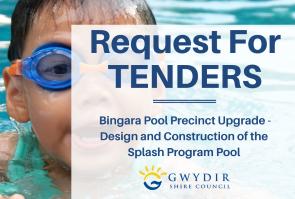Request for Tenders – Splash Pool Precinct, Bingara