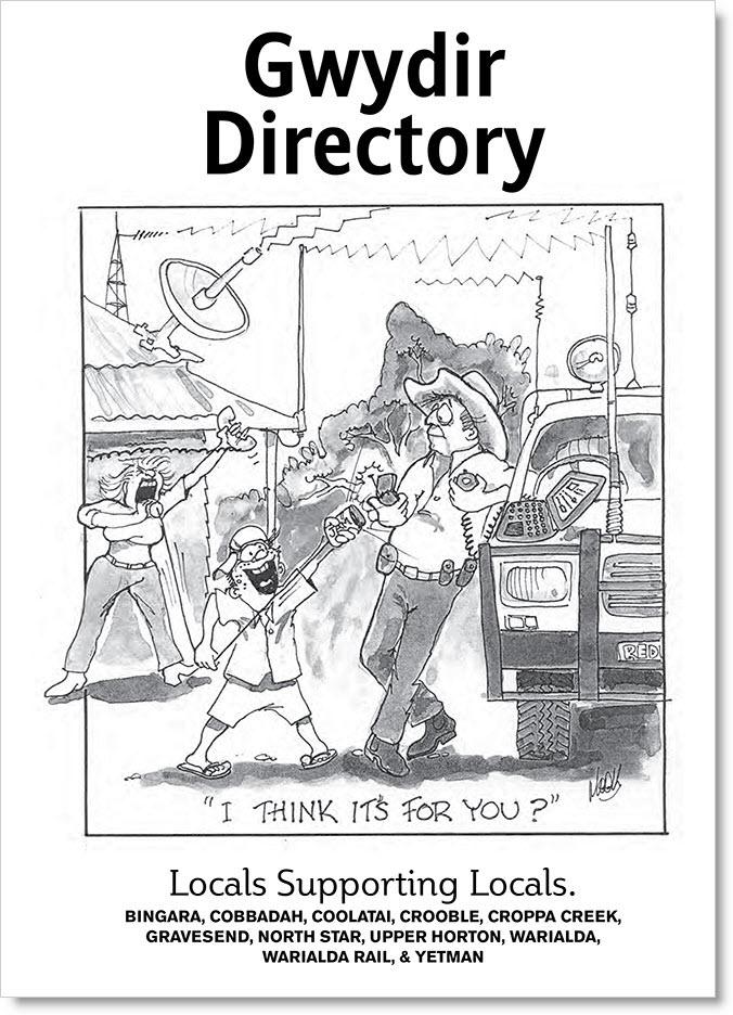 Gwydir Directory Cover