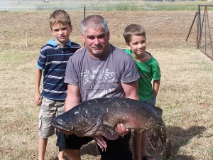 2010 Easterfish winner, Chris Baldock & grandsons