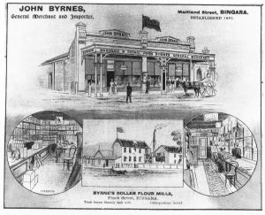 John Byrnes store, c1900