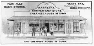 Fay's store - Bingara Telegraph Supplement