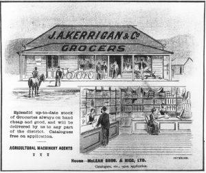 JA Kerrigan & Co - Bingara Telegraph Supplement