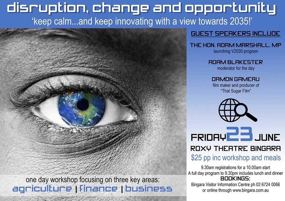 Disrupt Change & Opportunity