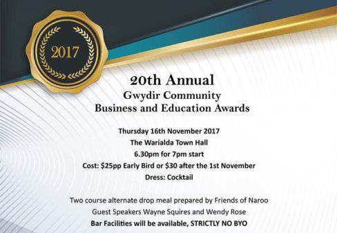 Gwydir Community Business Awards