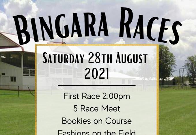 BINGARA RACES GALLOP AHEAD TO A NEW DATE