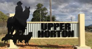 Upper Horton Town sign