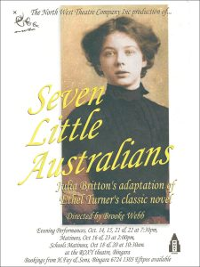 Seven Little Australians Poster