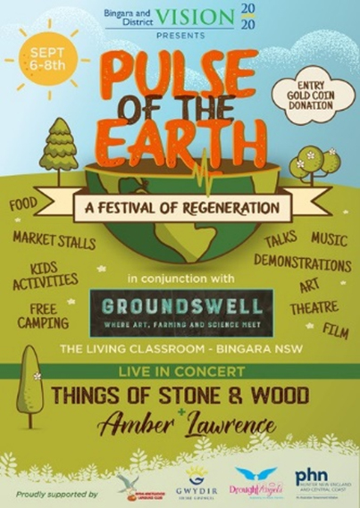 Pulse of the Earth Festival poster