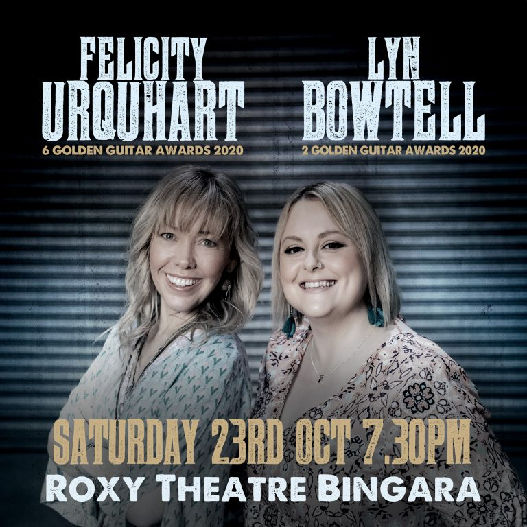 The Roxy presents Felicity Urquhart & Lyn Bowtell in Concert